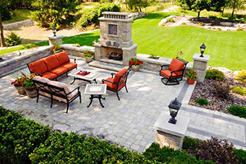 Outdoor Living Space Pavers