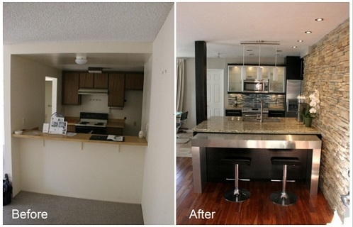 Completed Home Kitchen Project