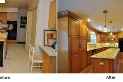 Kitchen Cherry Cabinets Remodeling