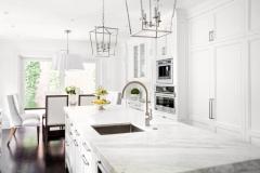 Kitchen Marble Countertop Installation