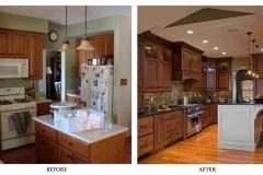 Kitchen Walnut Cabinets Replacement