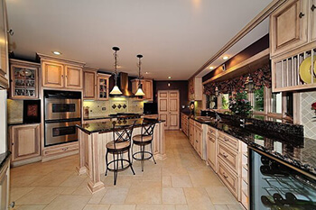 Kitchen Remodeling Black Granite Countertop