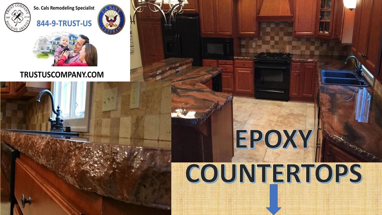 Epoxy countertops Pros and Cons - Trust Company